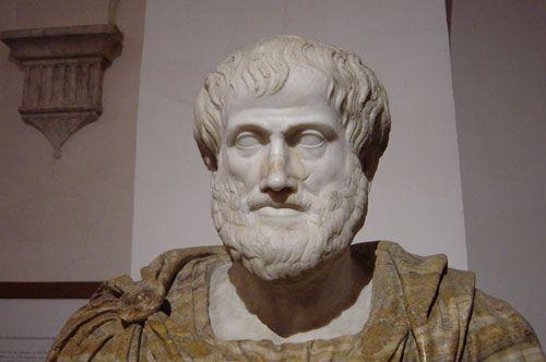 Aristóteles, autor de obras sobre metafísica