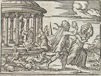 El mito de Deucalión y Pirra se relaciona con la etimología de «hombre»
