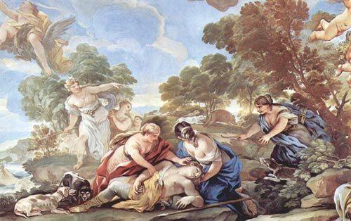 La muerte de Adonis y su relación con la etimología de «hombre»