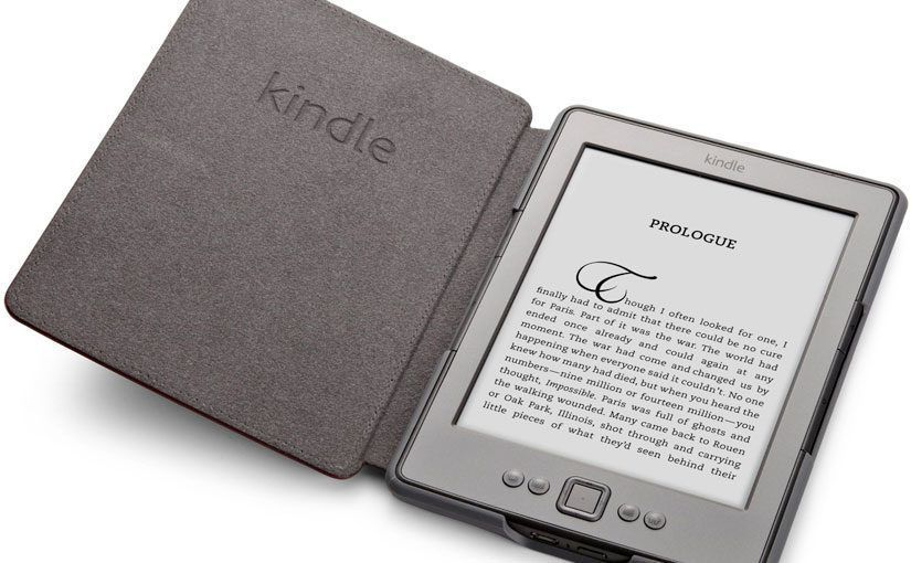 Kindle con su funda