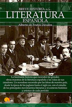 Breve historia de la literatura española, de Alberto de Frutos Dávalos