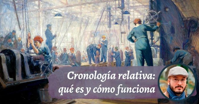 La cronología relativa aplicada a la lingüística