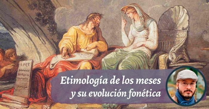 Etimología y evolución de los doce meses del año