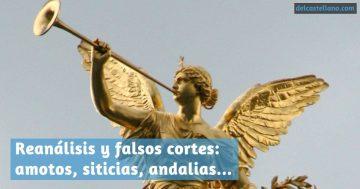 Tenemos siticias: el reanálisis y el falso corte