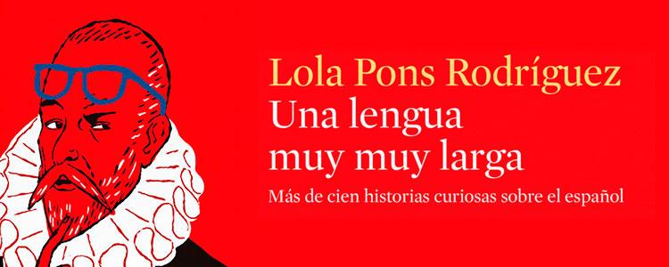 Una lengua muy muy larga, de Lola Pons (recorte de la portada)